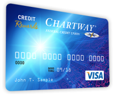 image of a Chartway credit card
