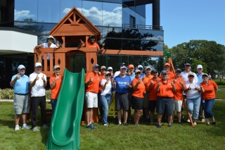 chartway leadership builds a playground