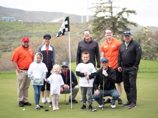 We Promise Foundation Golfers and Heroes