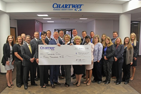 Chartway Donates Funds