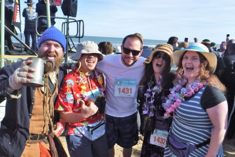 Polar Plunge team — Virginia Beach