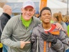 Brian Schools, Chartway President & CEO, with We Promise Hero, Koby