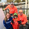 Chartway community involvement at the run