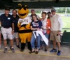 Bee mascot with Chartway friends