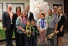 Salote and her family with members of Chartway, We Promise Foundation, and Make-a-Wish Utah.